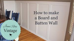 wainscoting dining room diy. How To Do A Board And Batten Wall Wainscoting Dining Room Diy