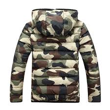 military style camouflage winter men jacket 2017 hooded mens winter jackets and coats zipper slim fit windbreaker mens clothing