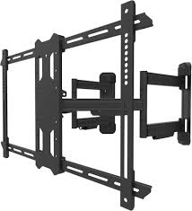 """Kanto <b>Full-Motion Corner TV Wall</b> Mount for Most 37"""" 70"""" TVs Black ..."""
