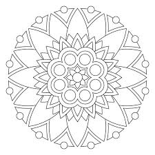 Small Picture Mandala Coloring Pages New Picture Free Mandala Coloring Pages at