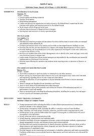 Pm Manager Resume Samples Velvet Jobs