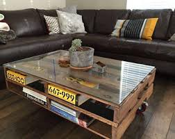 Best 25 Wood Pallet Coffee Table Ideas On Pinterest  Pallet Pallet Coffee Table Etsy
