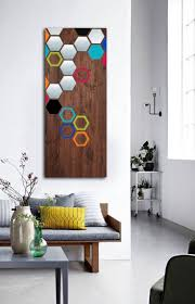 best modern  wood  metal art images on pinterest  wood wall
