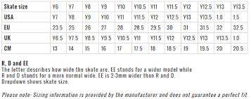 Bauer Skate Size Chart Bauer Vapor X2 7 Yth Goalie Skates