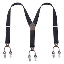 "Zoyette <b>Men Suspenders</b> for <b>Men 6</b> Clips Wide 1.4"" Y Back Heavy ..."