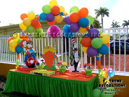 Birthday Cake Table Decorations Balloons House Decorating Tierra