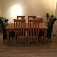 Cambridge Oak Dining Table Next