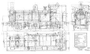 p class steam locomotive blueprints drawings p class steam locomotive