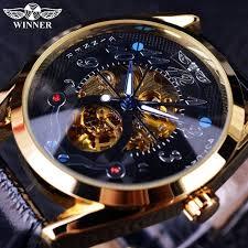 Winner Luxury Gold <b>Watch Mens Watches Top</b> Brand Luxury Full ...