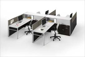 open office cubicles. Exellent Open ThreeH 4 Pack Open Office Cubicles Intended P