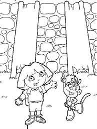 Kids N Fun 84 Kleurplaten Van Dora De Verkenner