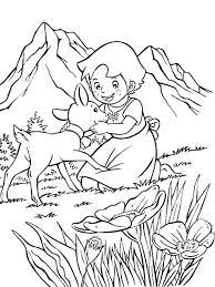 Heidi Disegni Per Bambini Da Colorare
