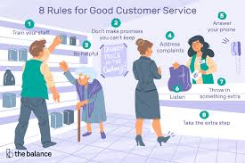 Customers Service Job Description 8 Rules For Good Customer Service