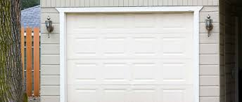 white single car garage door installed by new jersey door works