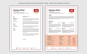 Minimalist Resume Template 40 Enchanting Minimalist Resume
