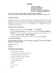 Objective For Fresher Resume In Computer Engineering