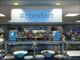office twitter. following the trend of hashtag one other food areas is called comfort office twitter