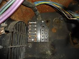 old car electrical where is the fuse box in a 2007 dodge caravan old car fuse box
