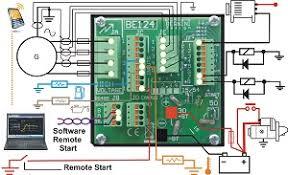 generator auto start circuit diagram genset controller be124 generator auto start circuit diagram