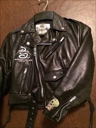 badass leather biker jacket