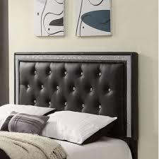 black upholstered headboard queen. Modren Upholstered Breen Upholstered Headboard Finish Black Size Queen In Black E