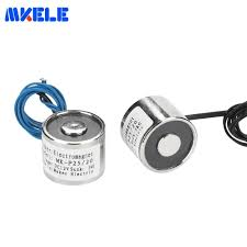 <b>Free Shipping MK25/20 Holding</b> Electric Magnet Lifting 5KG/50N ...
