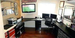 converting garage into office. Garage Office Creative Convert To The Wrap Around Workspace A Conversion Into . Converting