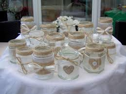Decorating Jam Jars For Wedding Hessian And String Decorated Jam Jars Great For Flowers Or 19