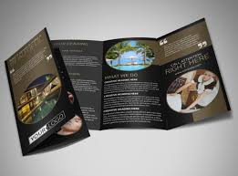 make tri fold brochure five star luxury hotels brochure template mycreativeshop