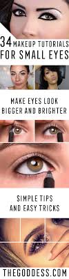 i hope you enjo these step by step and video tutorials on how to put eye makeup on small eyeake them look bigger there were many small tips and