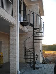 Best Spiral Staircase Exterior Exterior Spiral Staircase House Exteriors