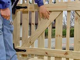 picket fence gate plans. Plain Gate Step 6 With Picket Fence Gate Plans C
