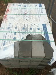 Pflastersteine Beton Grau