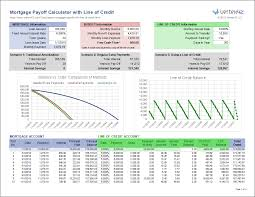 Mortgage Payoff Calculator With Line Of Credit