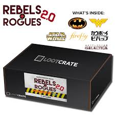 loot crate rebels rogues 2 0 limited edition box plete spoilers