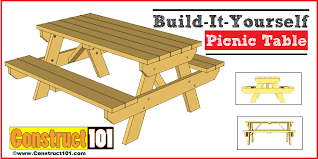 How To Build An Extra Large DIY Picnic Table  CurblyHow To Make Picnic Bench