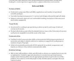 Cover Letter Skills List Example Resumes Skills Communication Skills Stunning Resume Communication Skills
