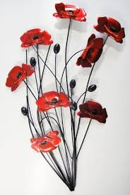 wall art metal wall art picture red poppy bunch black stems on red poppy metal wall art with wall art metal wall art picture red poppy bunch black stems