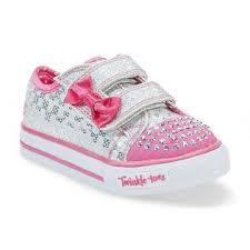 sketchers light up shoes girls. skechers toddler girl\u0027s sweet steps light up athletic shoe - silver/pink sketchers shoes girls