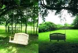 tree swing seat hanging tree swing garden tree swing double hanging chair in trees search a