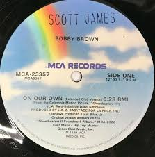 Bobby Brown on Our Own 1989 UK 12 ...