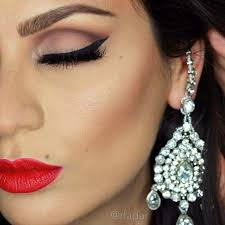 31 beautiful wedding makeup looks for brides page 2 of 3 stayglam Beautiful Wedding Makeup red lips wedding makeup look beautiful wedding makeup looks