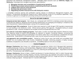 Warehouse Manager Resume Summary Astounding Inspiration Logistics Manager Resume 24 Cv Sample 20