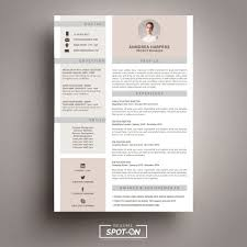 Photoshop Resume Template Free Download Awesome Spotlighting You To