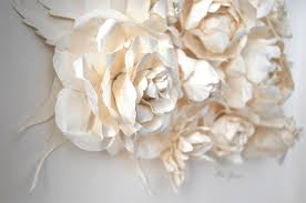 Paper Art Flower Work Of Art A Look At Paper Flowers At Chanel This Is Glamorous