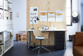ikea room dividers for workspaces with small desk and brown leather sofa