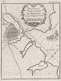 Amazon Com Historic Map Chart Atlas 1764 Plan De La