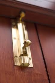 adding locks to your closet doors can help sauard your belongings