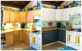 large size of painting the kitchen cabinets dark grey part white before and after pictures nine