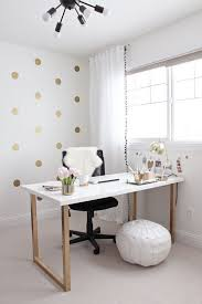 Ikea home office furniture Trabajo Gold And Girly Home Office Desk Dantescatalogscom 20 Cool And Budget Ikea Desk Hacks Hative